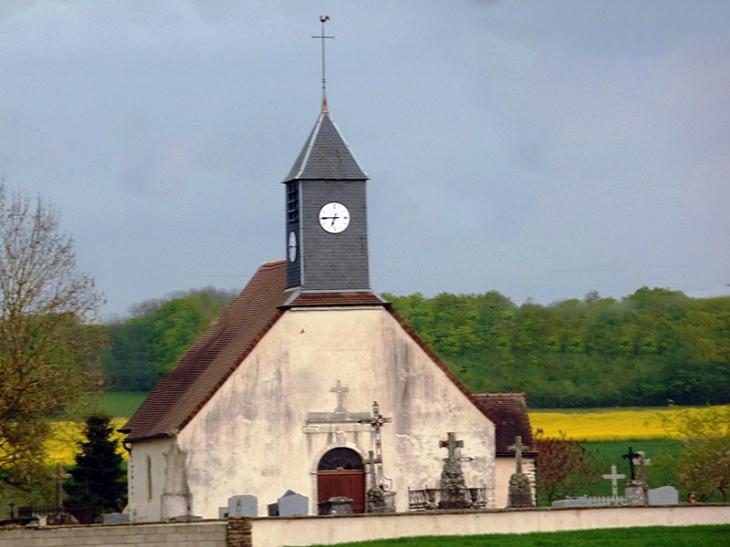 L'église - Vougrey
