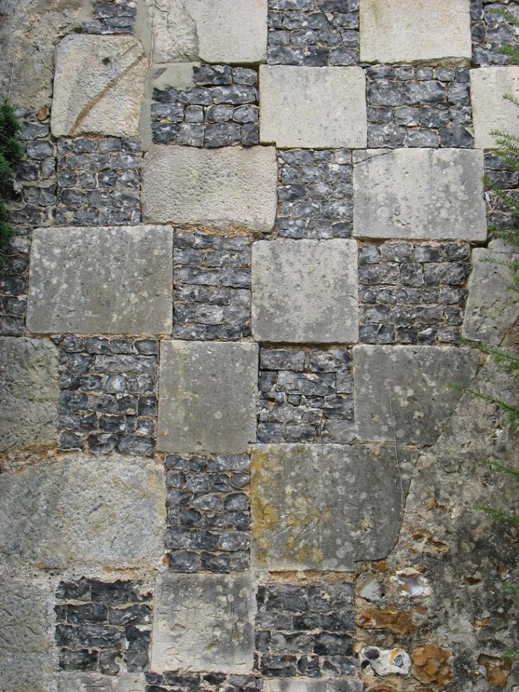 photo saint aubin des hayes 27410 mur de silex saint aubin des hayes 2344. Black Bedroom Furniture Sets. Home Design Ideas