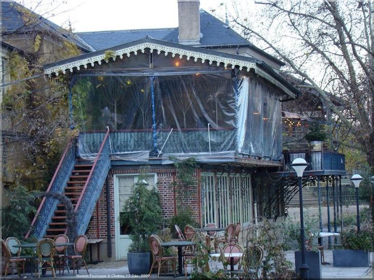 photo chatou 78400 la c l bre terrasse du restaurant fournaise ch re renoir chatou. Black Bedroom Furniture Sets. Home Design Ideas