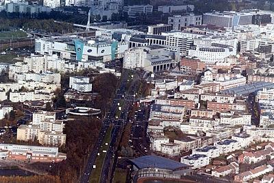 Photo montigny le bretonneux 78180 vue a rienne de - Piscine de montigny le bretonneux ...