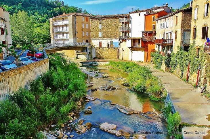 Photo rennes les bains 11190 riviere rennes les for Piscine rennes les bains