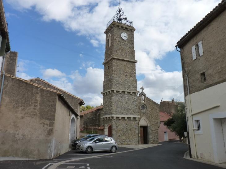 Le clocher campanile - Roubia