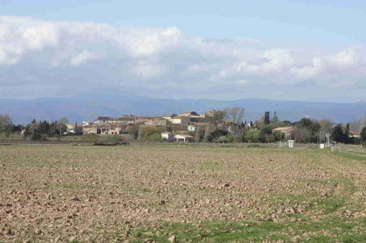 Le village de St Couat d'Aude - Saint-Couat-d'Aude