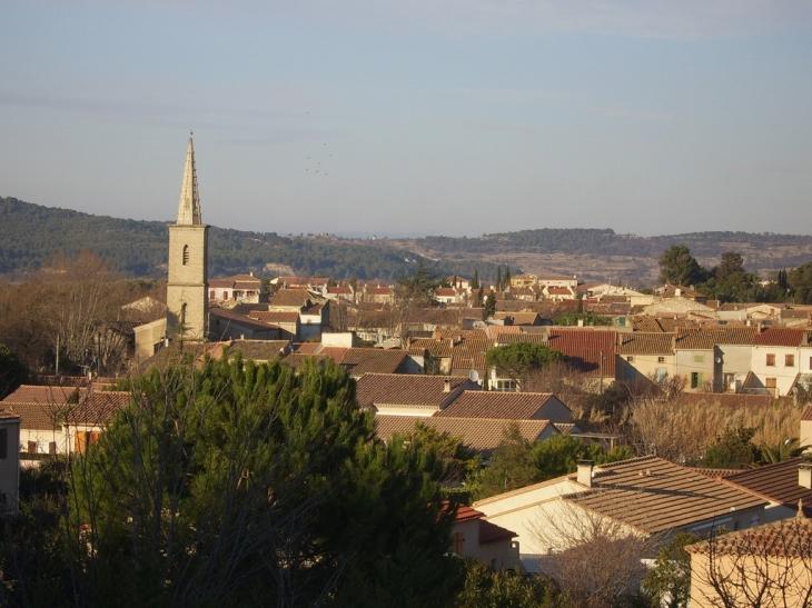 Le vieux village autour du clocher - Salles-d'Aude