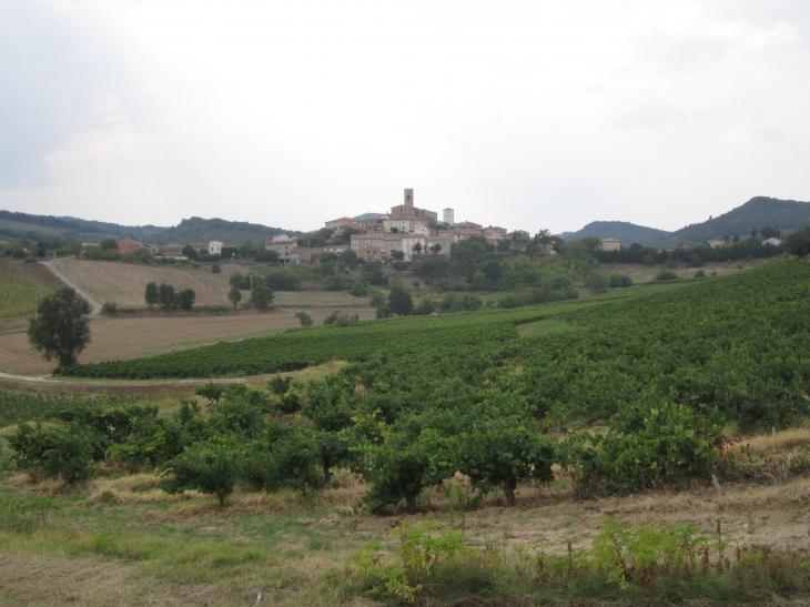 Vue du village - Villelongue-d'Aude