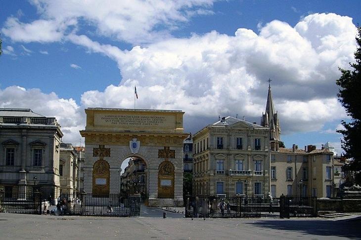 Photo montpellier 34000 l 39 arc de triomphe l 39 entr e de la ville montpellier 312713 - Arc de triomphe montpellier ...