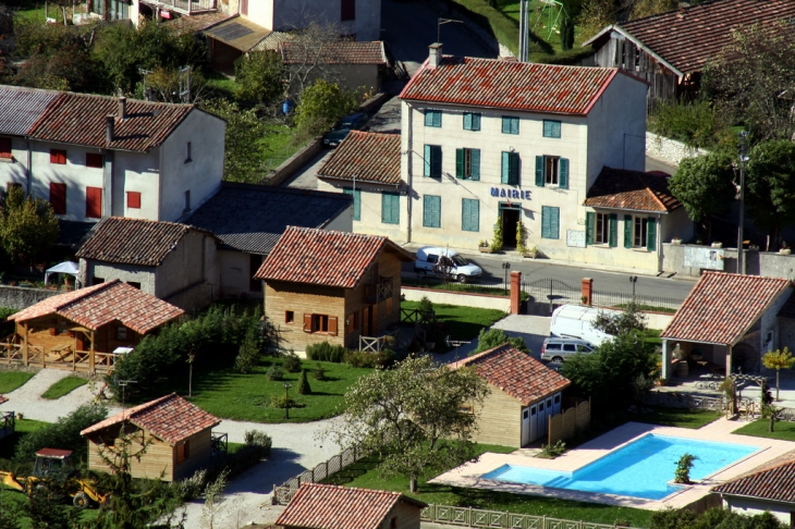 La mairie - Fougax-et-Barrineuf