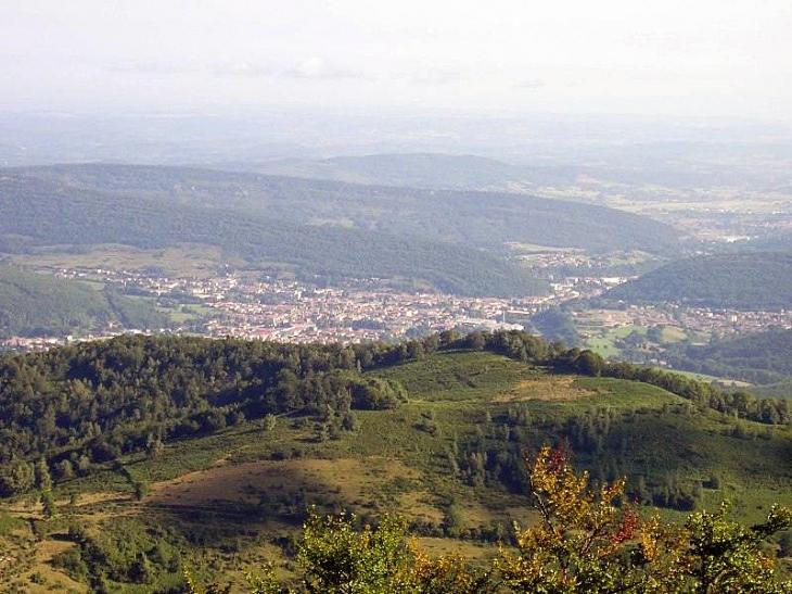 Vue du château de Montségur - Lavelanet