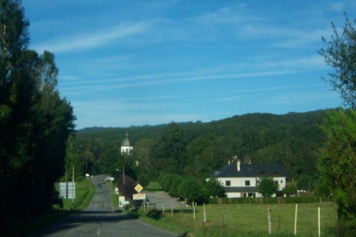 Fin du village - Mauvezin-de-Prat