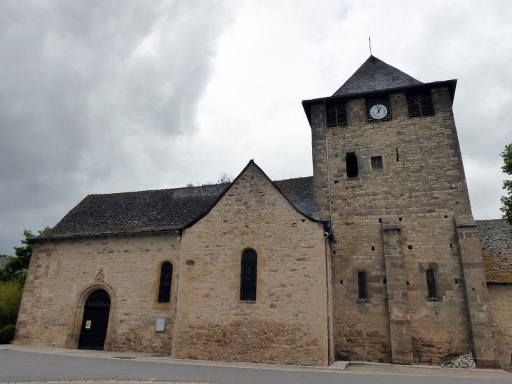 L'église - Anglars-Saint-Félix