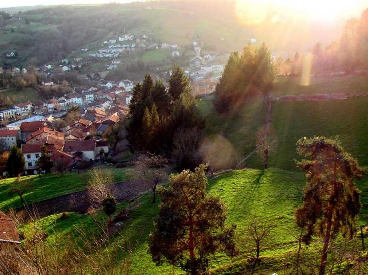 Panorama d'Aubin