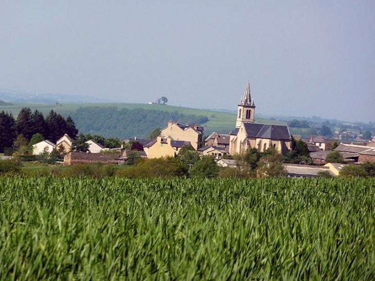 Vue sur le village - Brasc