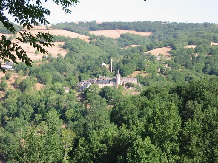 Vue générale - Castelnau-de-Mandailles