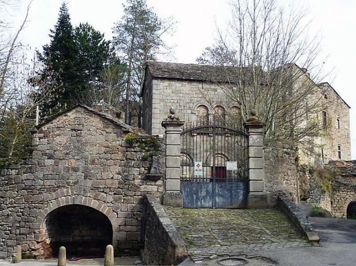 Le château - Castelnau-Pégayrols