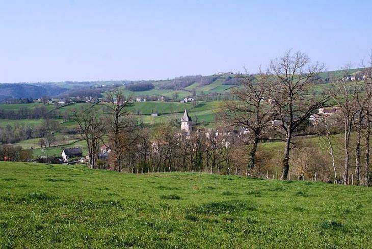 Vue sur le village - Compolibat
