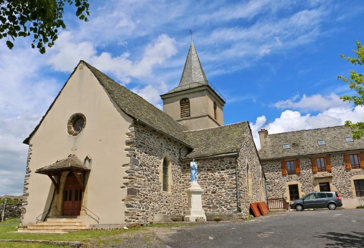 L-eglise-du-hameau-de-salgues - Condom-d'Aubrac