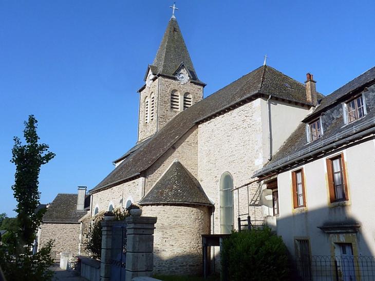 L'église du village - Le Cayrol