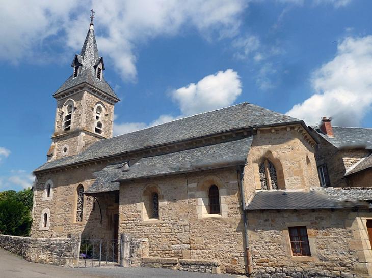 L'église de Lenne - Saint-Martin-de-Lenne