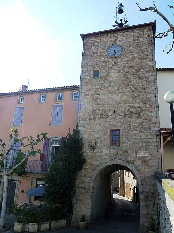Porte de l'horologe - Saint-Rome-de-Tarn