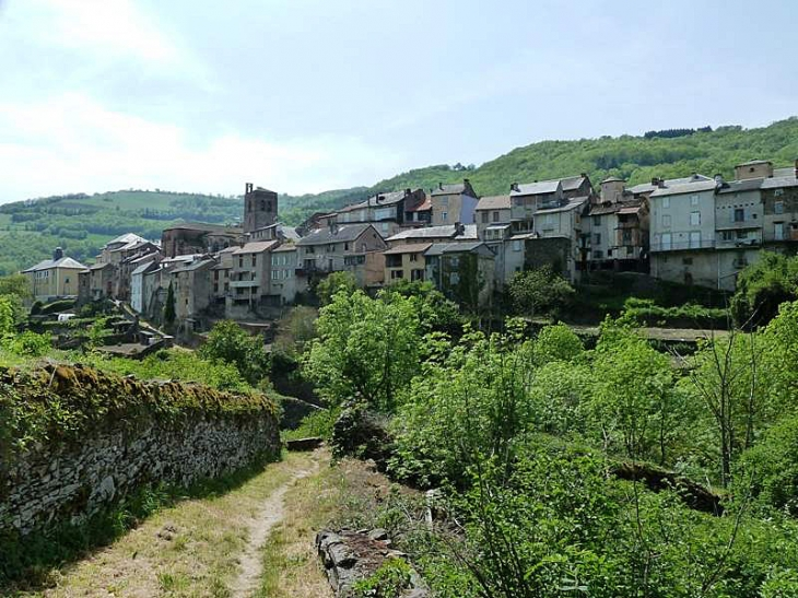Vue sur le village - Saint-Sernin-sur-Rance