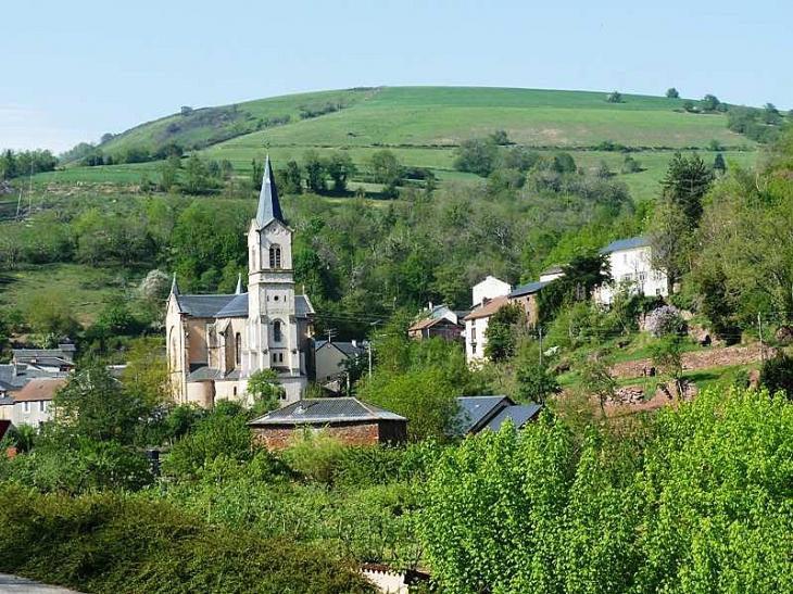 Vue sur le village - Saint-Sever-du-Moustier