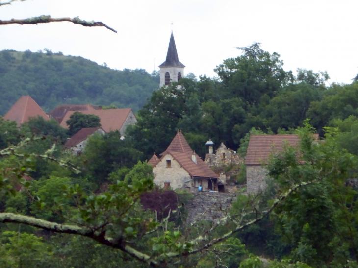 Vue sur le village - Saujac