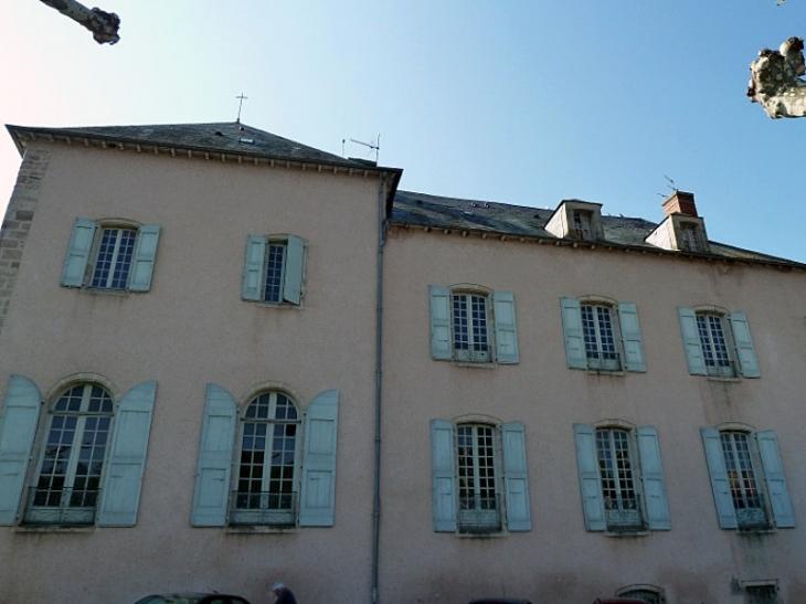 Le palais épiscopal - Vabres-l'Abbaye