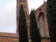 le clocher de la basilique Saint Sernin