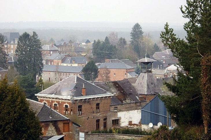 Photo Glageon 59132 Le Village Vu Du Calvaire