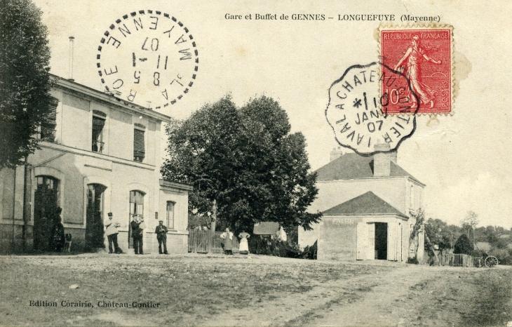 Ligne de Laval à Gennes Longuefuye Longuefuye_170089