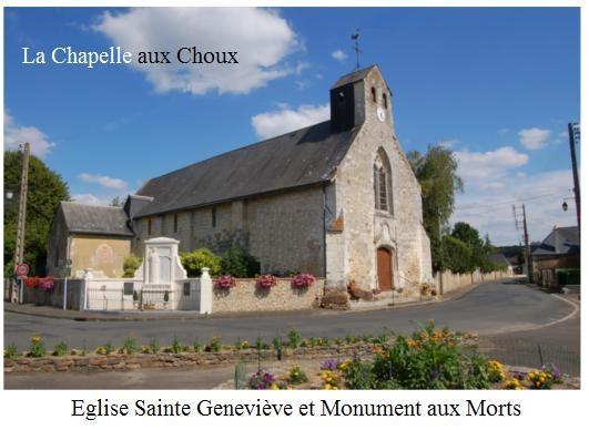 Photo la chapelle aux choux 72800 eglise sainte - Piscine sainte genevieve ...