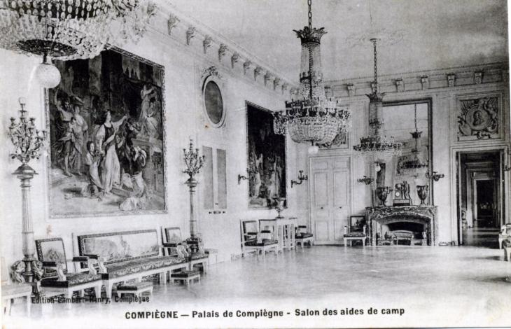 Photo compi gne 60200 palais de compiegne salon des for Salon 2000 compiegne