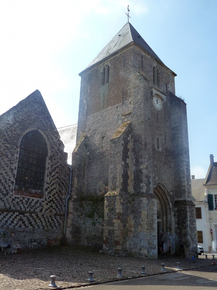 Photo saint valery sur somme 80230 le clocher - Office de tourisme de saint valery sur somme ...