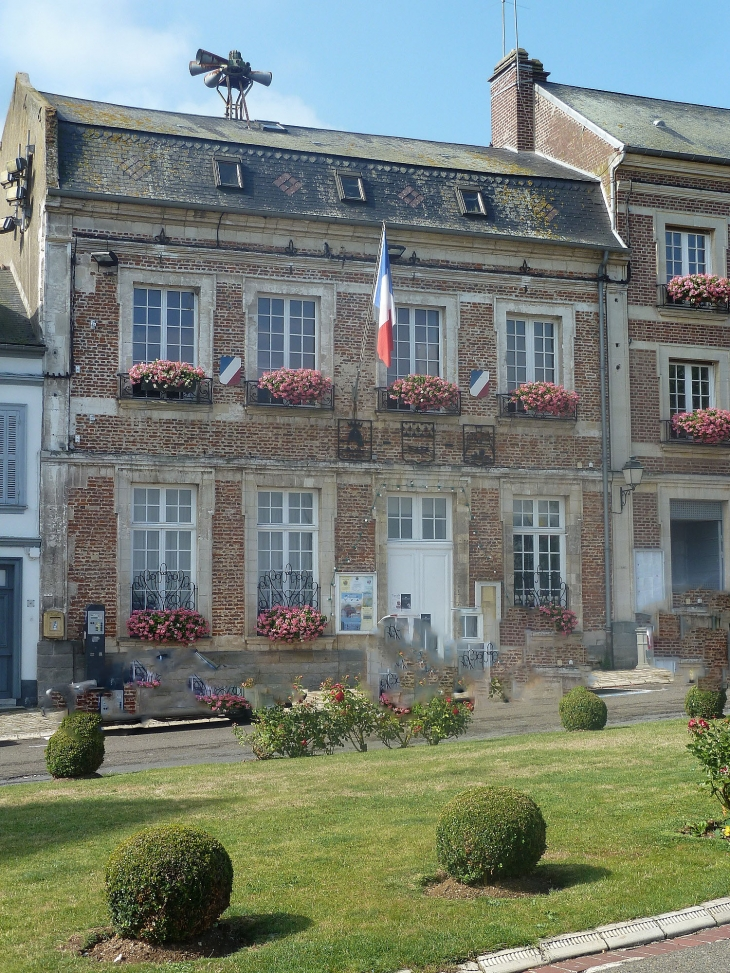 Photo saint valery sur somme 80230 la mairie saint - Office de tourisme de saint valery sur somme ...