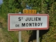 Saint-Julien commune de Montroy