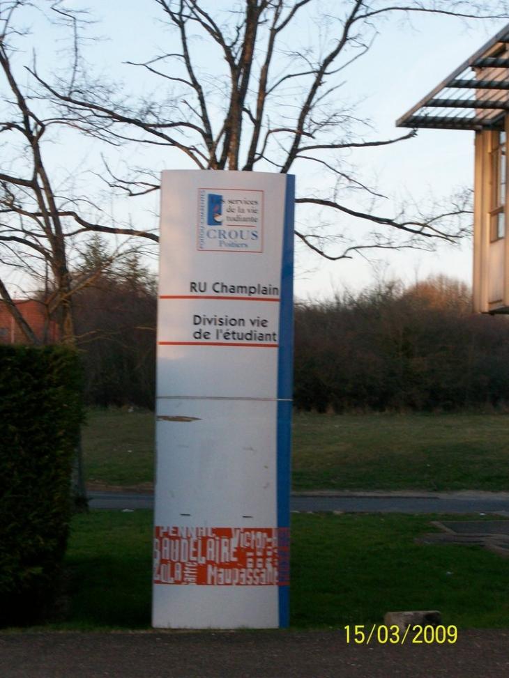 Photo poitiers 86000 panneau du restaurant for Plan de la vienne 86000