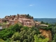 panorama sur Roussillon, un des plus beaux villages de France