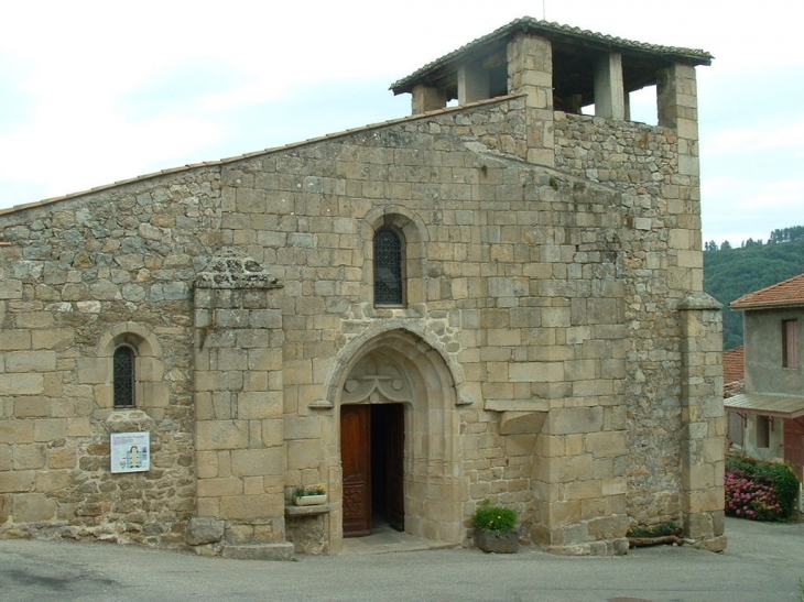 L'Eglise Saint-Jean-L'Evangéliste - Boucieu-le-Roi