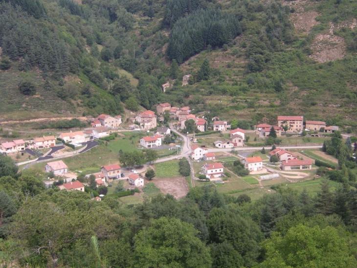 Quartier Valamas vu depuis