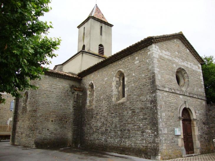 Saint-Maurice-d'Ardèche (07200) église, entrée