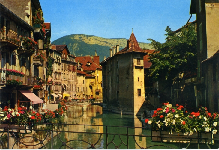 Mes cartes postales anciennes.....1992... - Annecy