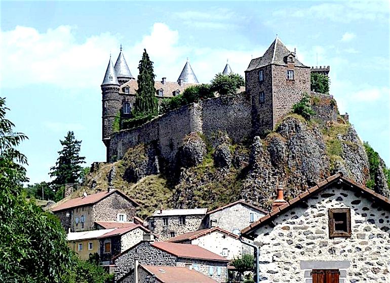 Château de sailhant-Andelat