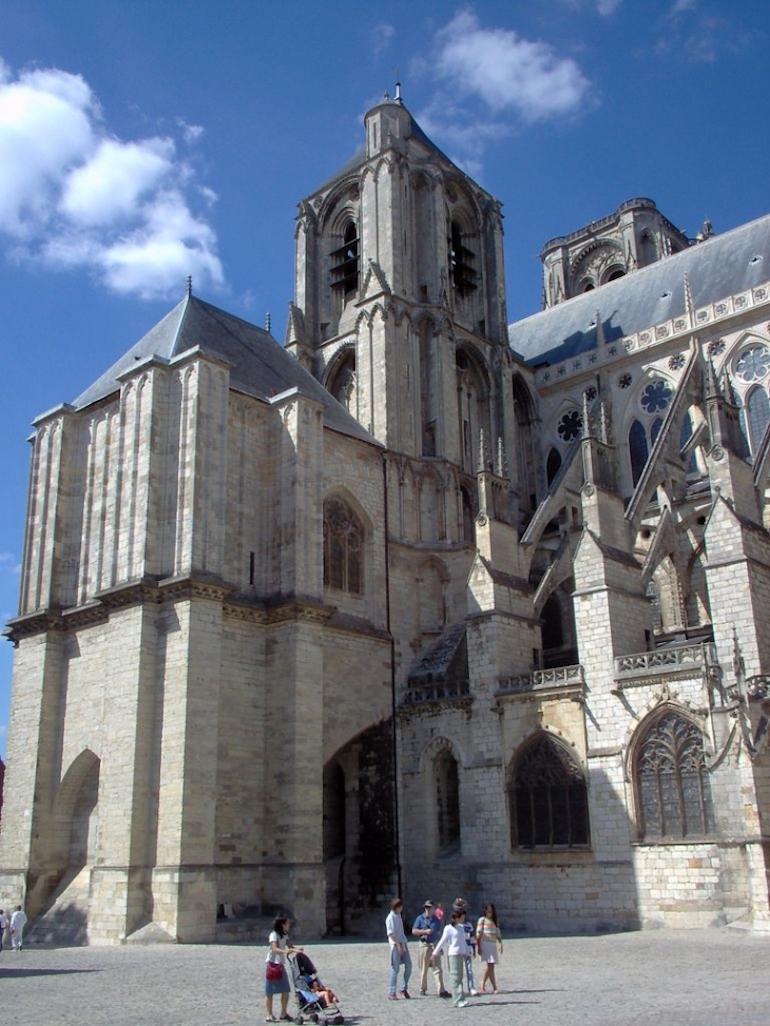 Eglise gothique, Bourges