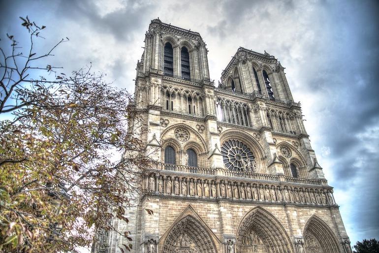 Cathedrale notre dame, Paris