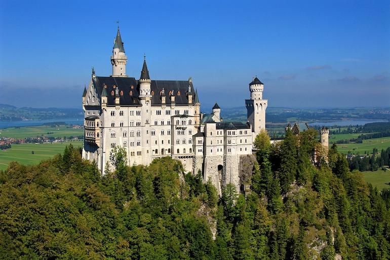 Château Neuschwanstein en Allemagne