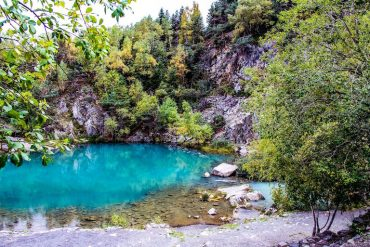 lac bleu Auvergne