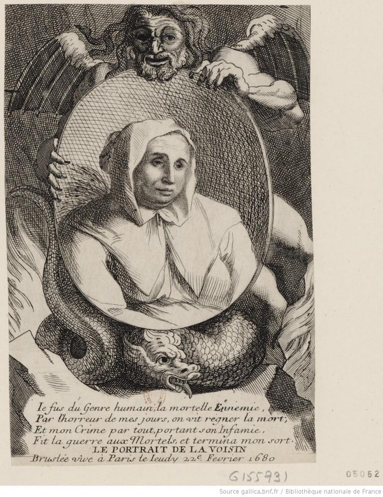 Le portrait de la marquise de La Voisin